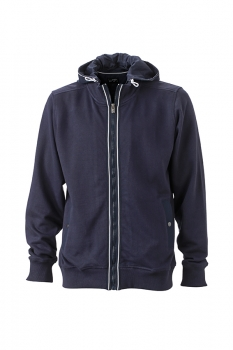 Herren Men´s Hooded Jacket, navy-navy