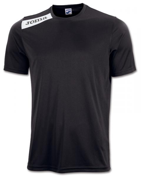 T-SHIRT POLYESTER VICTORY S/S BLACK