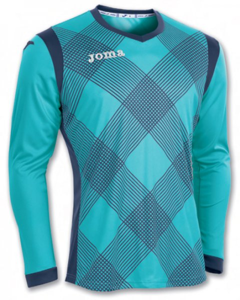GOAL KEEPER T-SHIRT DERBY TURQUOISE L/S