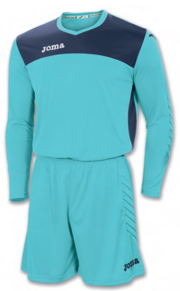 GOALKEEPER SET AREA IV TURQ-NAVY T-SHIRT+SHORT