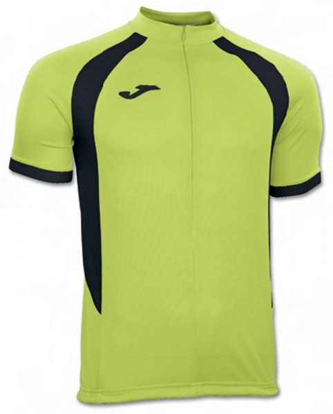 T-SHIRT DUATHLON GREEN-BLACK S/S