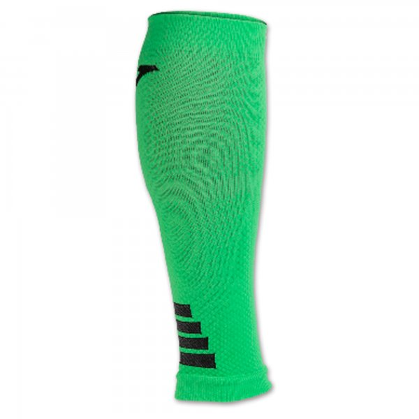 12 LEG COMPRESSION SLEEVES GREEN FLUOR